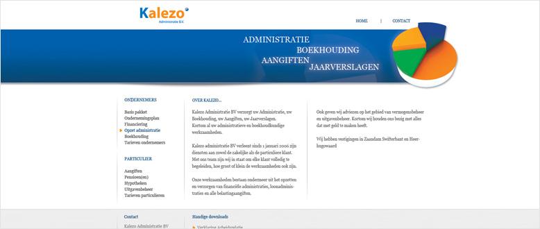project web kalezo L
